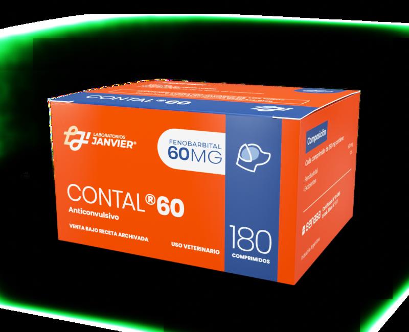 Contal 60mg x 180
